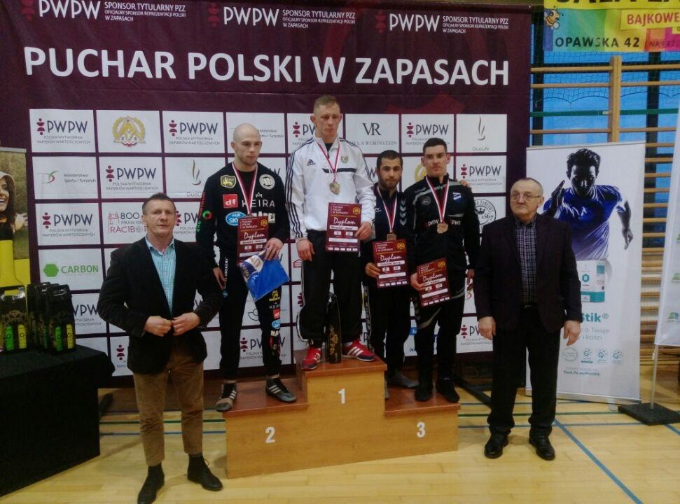 Zapasy - I Puchar Polski - GKS Cartusia - zKaszub (1)