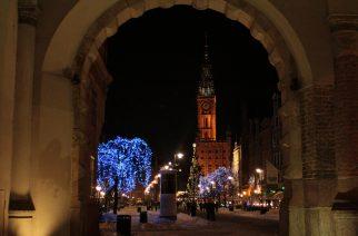 Gdańsk. Świąteczna iluminacja