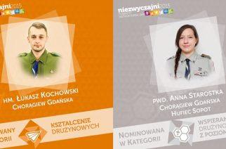 """Anna Starostka i Łukasz Kochowski nominowani do nagrody """"Niezwyczajni"""""""
