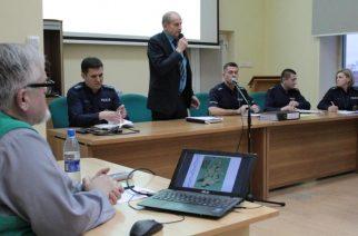 Dyskusja o bezpieczeństwie w Żukowie