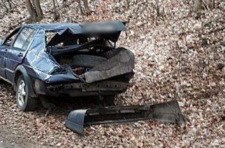 Wypadek w Brodnicy Górnej. Ranna pasażerka volkswagena [ZDJĘCIA]