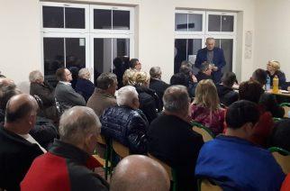 Zebranie wiejskie w Garczu