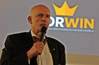 Janusz Korwin-Mikke w Kartuzach [ZDJĘCIA]