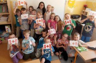 Szkoła w Glinczu gościła Kanadyjkę [ZDJĘCIA]
