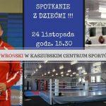 Andrzej Wroński w KCSW w Kartuzach: spotkanie 24 listopada
