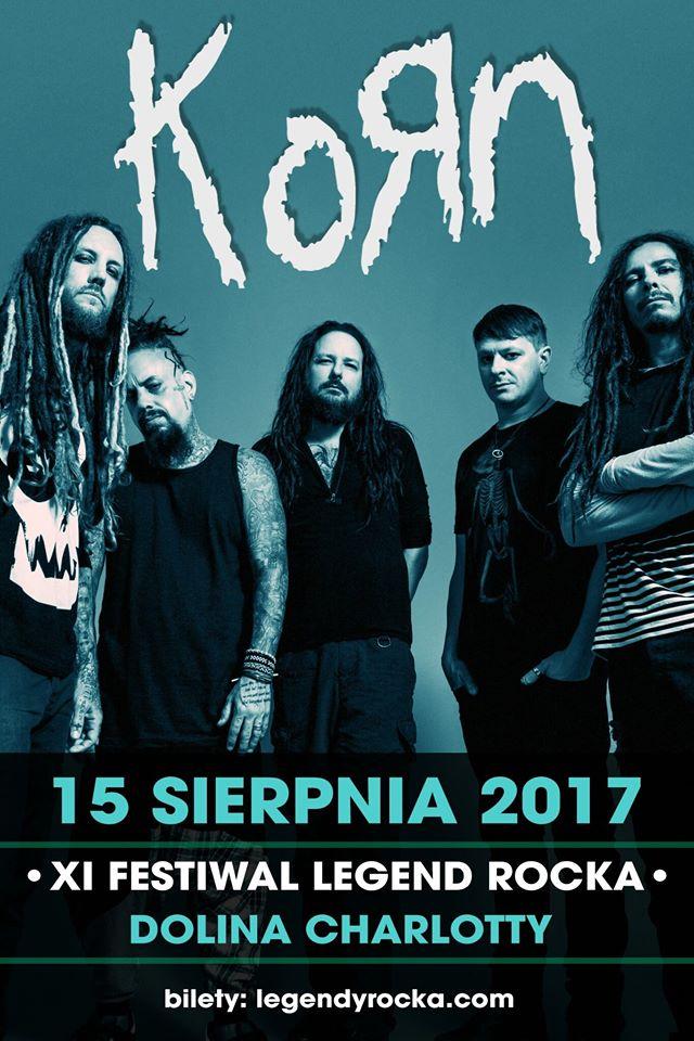 Korn na Festiwalu Legend Rocka w Słupsku