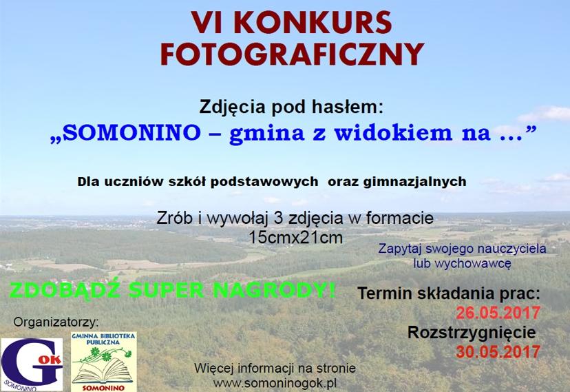 VI Konkurs fotograficzny - Somonino