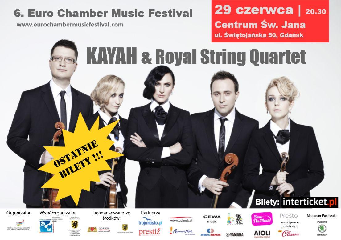 Koncert Kayah z towarzyszeniem kwartetu smyczkowego
