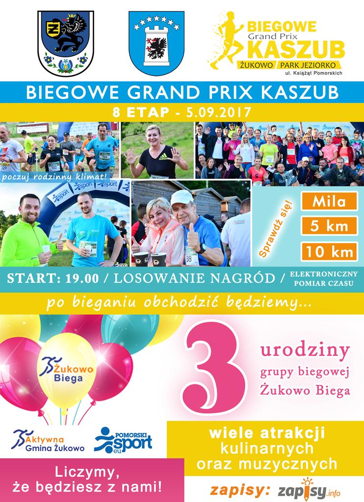 Żukowo Biega: trzecie urodziny grupy biegowej 5 września