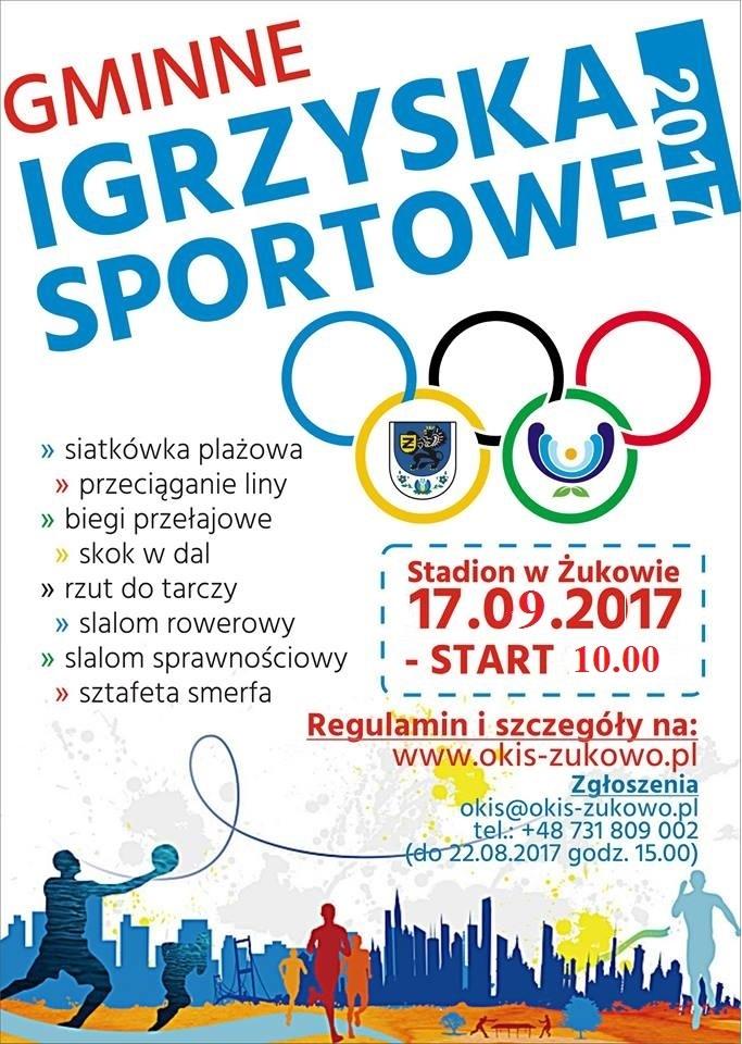 Gminne Igrzyska Sportowe w Żukowie