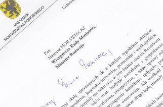 Marszałek Struk pisze do wicepremiera  Morawieckiego w sprawie uruchomienia Funduszu Solidarności Unii Europejskiej