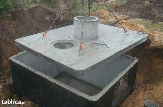 szamba zbiorniki betonowe z atestem