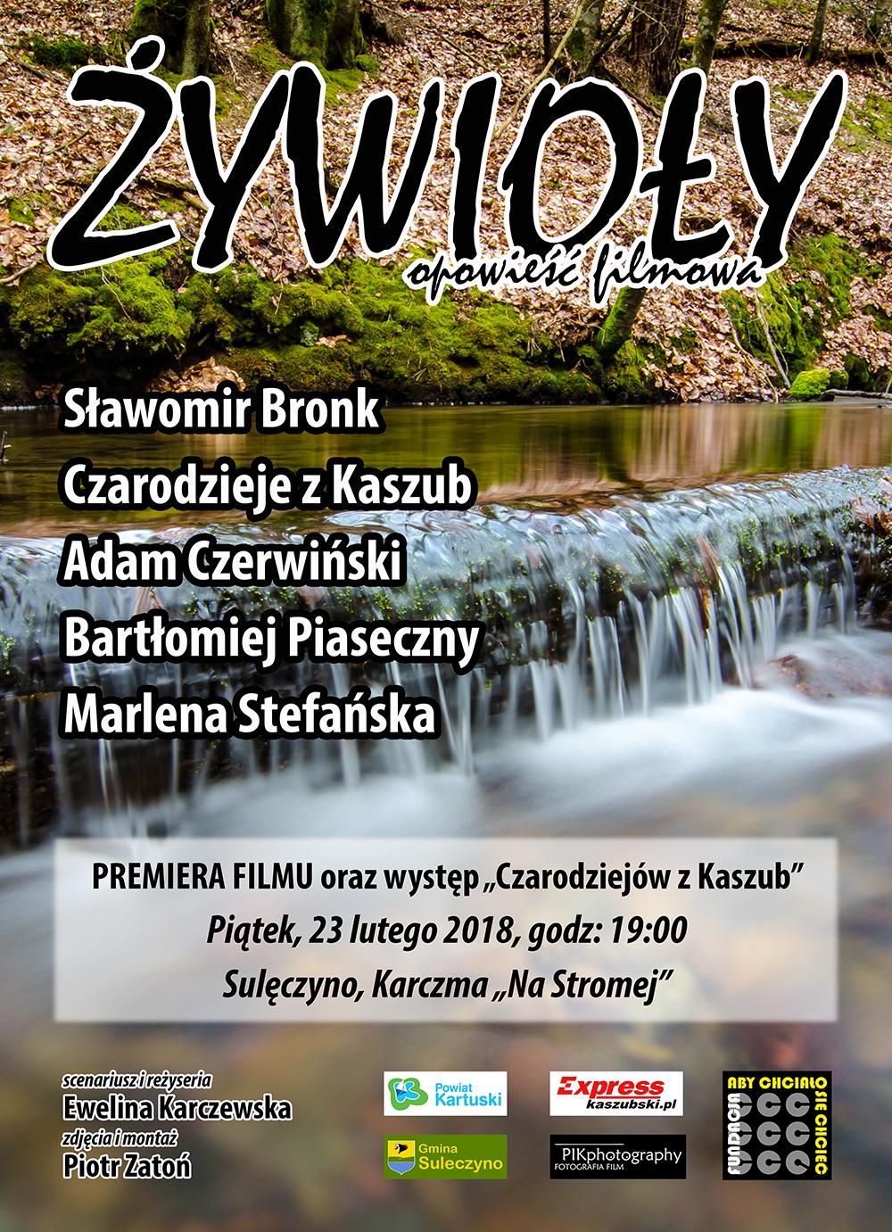 """Premiera filmu """"Żywioły 2"""" w Sulęczynie"""