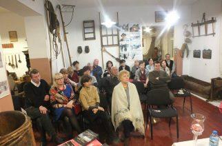 Spotkanie z dr. Romualdem Bławatem w akompaniamencie obrazów Mariana Mokwy