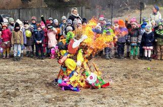 Pierwszy dzień wiosny w szkole w Borkowie