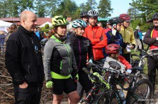 Jedną z tras na XIII Kaszubskiej Włóczędze przebyć można było na rowerze fot. Elżbieta Lejk /zKaszub.info