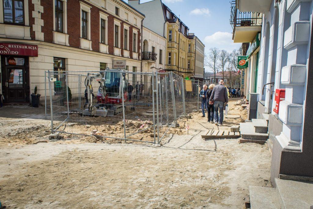Betonowanie deptaku w Kartuzach zaczyna się już w środę 16 maja fot. E.Lejk / zKaszub.info