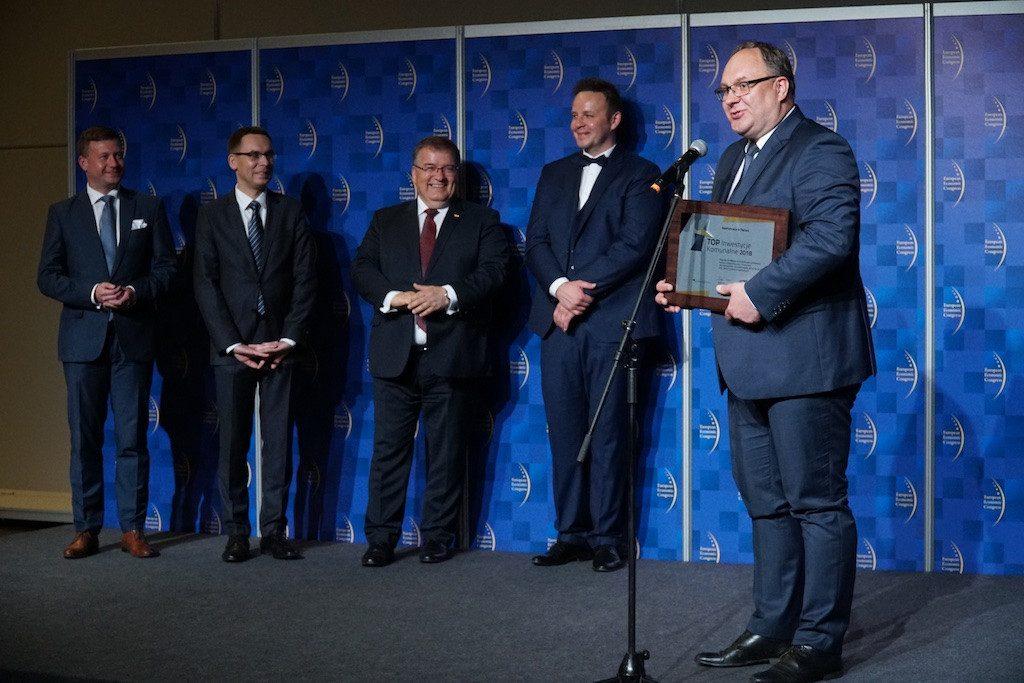 7. wydaniu plebiscytu Top Inwestycje Komunalne nagrodzono gminę Stężyca