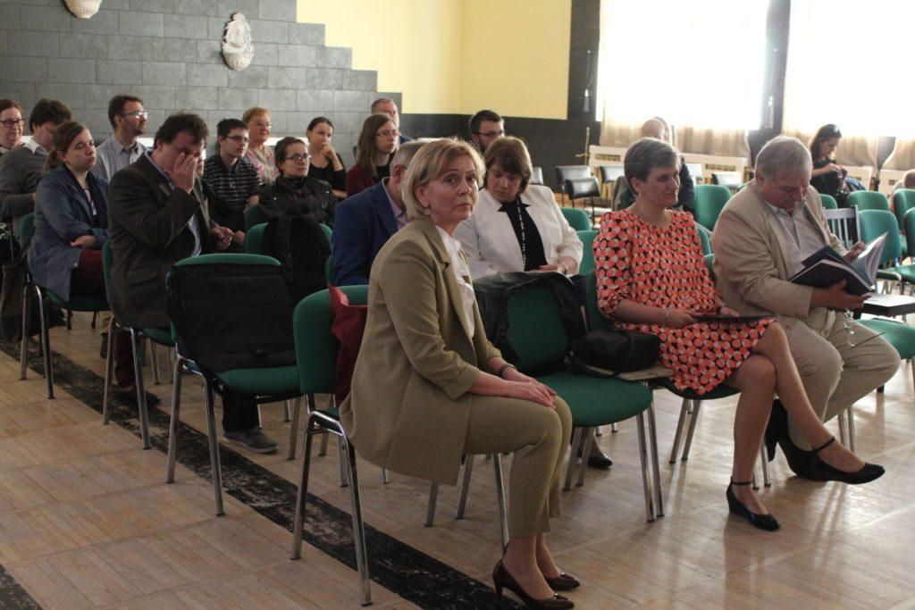 Wystawa archeologiczna w Chmielnie została poprzedzona specjalną konferencją z udziałem ekspertów w dziedzinie archeologii i historii fot. P.Chistowski / zKaszub.info