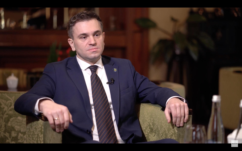 """Gościem programu """"Na Dywaniku"""" był Michał Melibruda, Wójta Gminy Chmielno"""