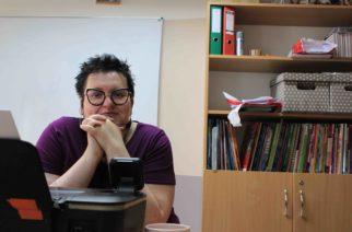 O projektach międzynarodowych organizowanych w ZSZiO w Kartuzach rozmawiamy z Magdaleną Fryt fot. M.F / zKaszub.info