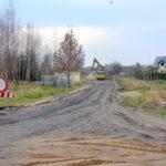 Ruszyły prace budowlane przy ul. św. Faustyny i ul. Wierzbowej