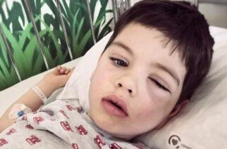 Kiełpino. 3-letni Antoś walczy ze złośliwym nowotworem. Trwa zbiórka