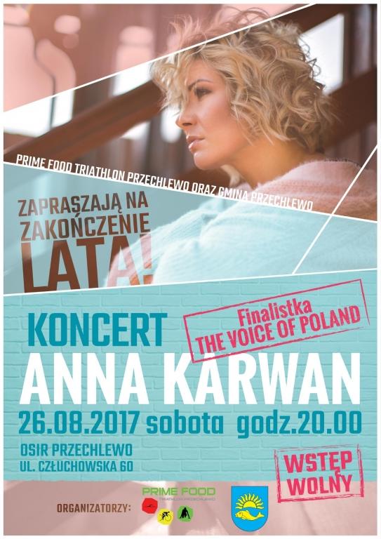 Plakat_Ania Karwan_Koncert