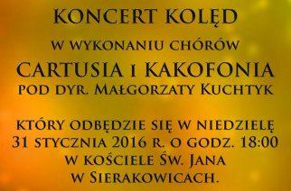 Koncert kolęd w Sierakowicach