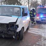 Wypadek w Kaliszu Kaszubskim. Siedem osób rannych [ZDJĘCIA]