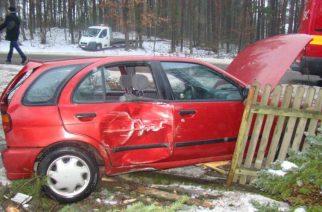 Wypadek w Krasinie