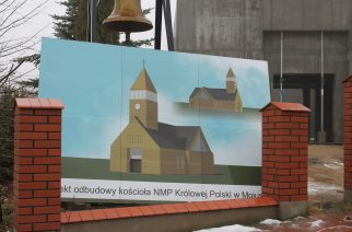 Kościół w Mojuszu rośnie w oczach