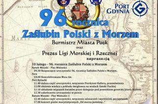 96. rocznica Zaślubin Polski z Morzem
