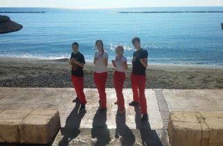 Zawodnicy Gokken Chwaszczyno na Cyprze