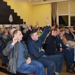 Zebranie  wiejskie w Chmielnie: spokojnie i rzeczowo