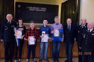 Gminne eliminacje turnieju wiedzy pożarniczej w Chmielnie [ZDJĘCIA]