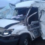 Kolizja w Żukowie: zderzenie dostawczaka i ciężarówki