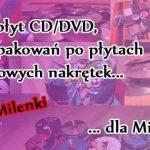 Zbiórka dla Milenki z Żukowa: przynieś nakrętki, płyty CD i DVD