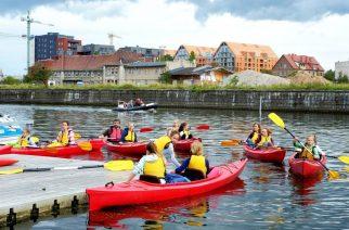 Gdańsk jakiego nie znacie, czyli widziany perspektywy tafli wody