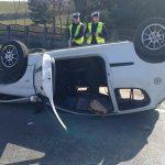 Wypadek w Glinczu: trzy osoby ranne