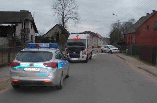 Wypadek we Wielu: zderzenie volkswagena z peugeotem