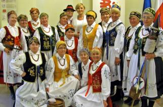 """KGW Chwaszczyno: """"Kaszubki"""" wystąpiły w Pałacu Prezydenckim [ZDJĘCIA]"""