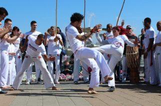 Capoeira w Gdyni: weekendowe pokazy [ZDJĘCIA]