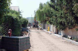 Budowa drogi w Zaworach [ZDJĘCIA]