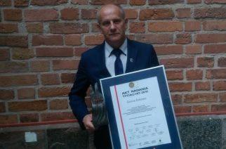 HIT 2016 dla Żukowa. Burmistrz odebrał statuetkę