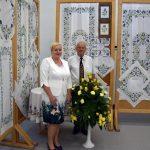 Wystawa haftu w żukowskiej strażnicy [ZDJĘCIA]