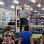 Andrzej Wroński w Kaszubskim Centrum Sportów Walki spotkał się z dziećmi [ZDJĘCIA]