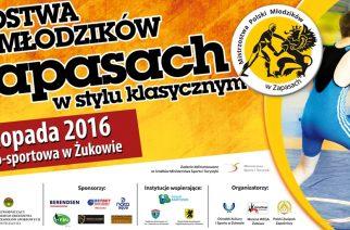 Mistrzostwa Polski Młodzików w zapasach w Żukowie