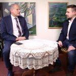 """Wojciech Kankowski """"na dywaniku"""" w TV z Kaszub"""