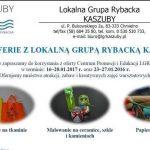LGR Kaszuby zaprasza dzieciaki na ferie